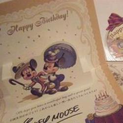【ディズニー誕生日】ランド・シーのお誕生日パーティープラン