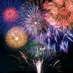 打ち上げ花火とバースデーソングでサプライズ!