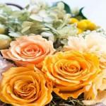 送別会で奥さん(彼女)・旦那さん(彼氏)登場で花束贈呈サプライズ!