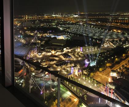 恋人の誕生日にお勧めのホテル「ホテル京阪ユニバーサル・タワー」 ベイエリア(ユニバーサルシティ)